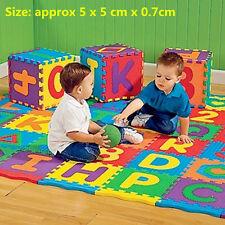 Colorful Puzzle Kid Educational Toy A-Z Alphabet Letters Numeral Foam Mat ZM