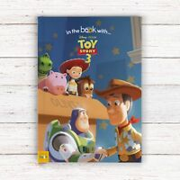Personalised Photo Disney Book Toy Story 3 Woody Buzz Children's Name in story