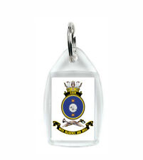 HMAS COOK ROYAL AUSTRALIAN NAVY KEY RING ACRYLIC BLURRED TO PREVENT THEFT