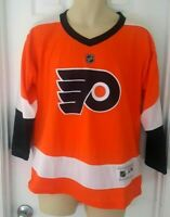 PHILADELPHIA FLYERS Youth Jersey Size Large/XL Home Orange NHL Official New
