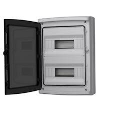 Feuchtraum Verteiler Aufputz IP65 24Modul Verteilerkasten Sicherungskasten 1457