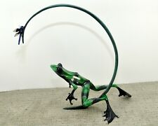 DRAGONFLY RETIRED  Bronze Frog By the Frogman Tim Cotterill