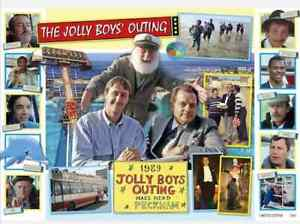 Only Fools and Horses The Jolly Boys Outing Limited Edition Print A3