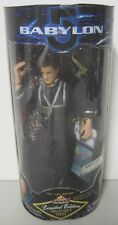 "Mib Factory Sealed Babylon 5 ""Captain John Sheridan"" Action Figure 1997"