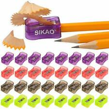 SIKAO Bulk Handheld Manual Pencil Sharpeners Portable Kids Pencil Sharpener o...