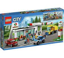 LEGO City 60132 SERVICE PETROL STATION Construction Set (Brand New Sealed Box)