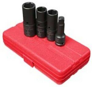 """Sunex 1/2"""" Dr. Deep Thin Wall Flip Socket Set 2724"""