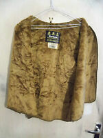 BARBOUR A297 PILE FAUX FUR ACRYLIC LINER GILET SIZE C38 97CM FOR WAXED JACKETS