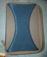 Blue and Grey 7x5 Inch Tablet Zip Shut Protective Case*BW-A3