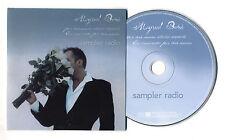Cd PROMO MIGUEL BOSE' Sampler Radio Por vos muero edicion especial cds singolo