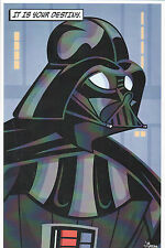 Animated Star Wars - DARTH VADER PRINT HAND SIGNED Jorge Baeza