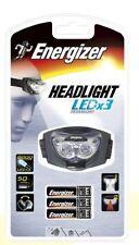 (E625466) TORCIA HAEDLIGHT CON LUCE LED + 3AAA ENERGIZER FLASHLIGHTS