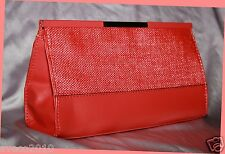Victoria's Secret Fabulous Bright Red Makeup Travel Bag Purse ~ New with Tag!