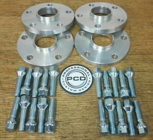 4x 5x114.3 Hubcentric Wheel Spacers, 15mm & 20mm 60.1 CB 20x Bolts UK Made