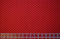 By the 1/2 yard cotton quilt fabric Country Floral red tone on tone Springs sew
