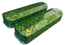 Hydro Dipped Green Insanity Skulls Ford Big Block Valve Covers 6874G