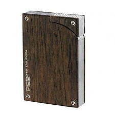 Porsche Design Bog Oak Wood Torch Flame Lighter, # 060.589, New in Box