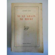 Si le grain ne meurt / 1933 / Gide, André / Réf42402