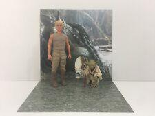 "custom star wars dagobah backdrop ikea detolf display 12"" sideshow hot toys"