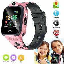 Fashion Wrist Watch 2G Unlocked Phone GPS+WIFI+LBS Location For Kids Children