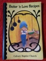 1984 Butter 'N Love Recipes Ladies Ministries TN Spiral Bound Community Cookbook