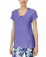 New Calvin Klein Performance Relaxed Icy Wash Burn-Out Yoga T-Shirt PF6T3860 $39