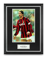 Franco Baresi Signed Photo Framed 16x12 AC Milan Autograph Memorabilia Display