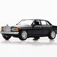 1:36 W123 Die Cast Modellauto Spielzeug Model Sammlung Pull Back Kinder Schwarz