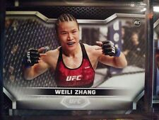 🔥🔥2020 Topps UFC Knockout WEILI ZHANG 1st RC Rookie Card UFC (NM) 🔥🔥BASE NR