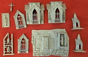 Warhammer Vampire Counts Garden of Morr Sigmarite Mausoleum B (unassembled)