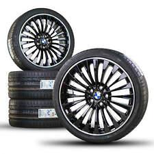 BMW 20 Zoll Alufelgen 5er F10 F11 6er F12 F13 F06 410 Felgen Sommerräder neu