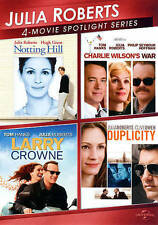 Notthing Hill Charlie Wilson's War Larry Crown Duplicity 4 Movies Juila Roberts