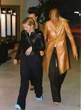 C Photo Foto Vera Madonna, Gwyneth Paltrow e Debi Mazar uscita rist. Da Peppone