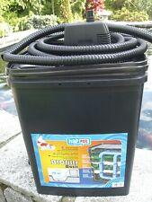 Gartenteichfilter Teichfilter für Teiche bis 2500 Liter incl. Pumpe u. Schlauch