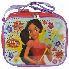 Princess Elena Rectangle Lunch bag with Strap and Printed PVC & Sequin Underlay