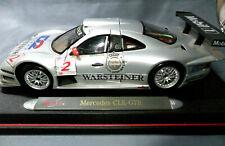 Maisto GT Racing 1:18 Scale Mercedes CLK-GTR  Warsteiner Red Mirror Edition