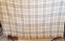 Pendleton Woolen Mills 100% Pure Virgin Wool Throw/Blanket 57x67 Unique Print