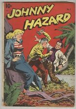 Johnny Hazard #5 August 1948 Vg-