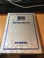 Doctor Who Novellas HC Book Signed by Kim Newman Justin Richards Brian Talbot