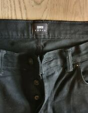 Edwin Ed-55 Black Selvedge Jeans