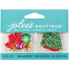 "***BRAND NEW** Christmas Jolee's Boutique ""XMAS ORNAMENTS & TREES""  50-00615"