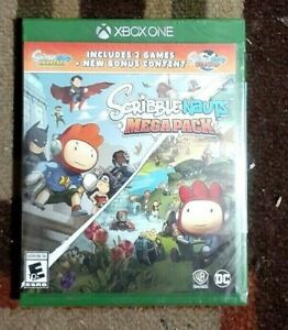 Scribblenauts Megapack 2 Games In 1 + Bonus Content (Xbox One) New & Sealed