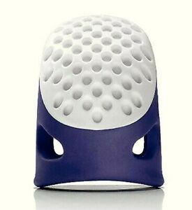 Grand L Ergonomique Dé à Coudre Bleu Couture Quilting Patchwork Confortable Prym