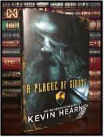 A Plague of Giants ✎SIGNED✎ by KEVIN HEARNE New Hardback 1st Edition & Printing