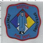 Boston Fire Department (Massachusetts) Hazmat Operations Shoulder Patch