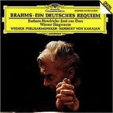 """HENDRICKS/DAM/KARAJAN """"EIN DEUTSCHES REQUIEM"""" CD NEW+"""