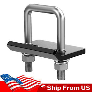 U-Type Hitch Mount Cargo Carrier Anti Rattle Hitch Tightener Stabilizer Towing