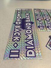 Diamondback Silver Streak Decals Sticker Set Suit Your Old School BMX Blue