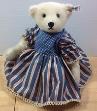 Steiff Limited Edition White Bear Margaret Strong Leather Paws #0158/31 LE 2500