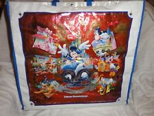 Tokyo Disneyland 20th Anniversary 2003 Shopping Tote Bag Mickey Minnie Daisy